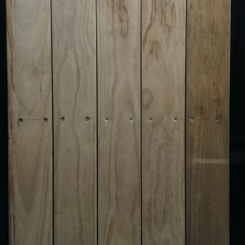 Panel made from 150mm x 40mm Pine